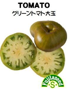【藤田種子】グリーントマト 大玉野菜のタネ