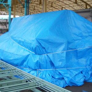 国産OSシート #2500 10×20m(1枚)・厚み約0.18mmのスタンダードなブルーシート