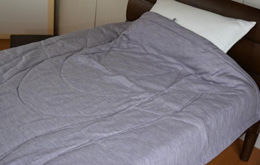 ウールケット シングル ニット地 夏用寝具 西川 西川リビング 日本製 150×210cm シングルロング