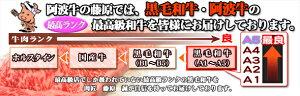 【阿波牛の藤原】かなりリッチなすき焼き用450g