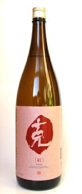 【芋焼酎】 ■紫芋焼酎 『克紅』 かつ くれない 25度 1800ml 【いも焼酎】