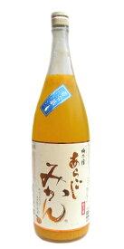梅乃宿 あらごし みかん酒 7度 1800ml※こちらは常温便発送となります。