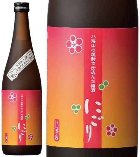 八海山の焼酎で仕込んだ梅酒【にごり梅酒】14度 720ml