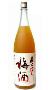 梅乃宿 あらごし梅酒 12度 1800ml