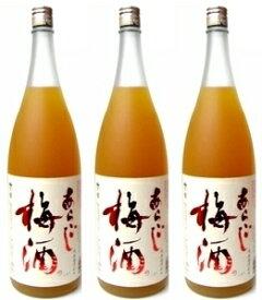 梅乃宿 あらごし梅酒1800ml×3本セット