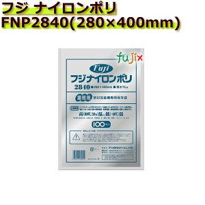 真空パック用ナイロンポリ袋 フジ ナイロンポリ  FNP2840(280×400mm) 1ケース(100枚×10袋)
