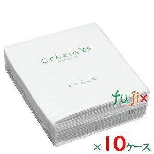 クレシアEFティシューハーフ50Wポリパック パルプ+紙パック リサイクルパルプ 50組×96パック/ケース×10ケース分 43933