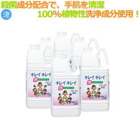 キレイキレイ 薬用 泡ハンドソープ(詰替用)2L×6本/ケース ライオン