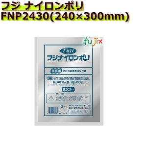 真空パック用ナイロンポリ袋 フジ ナイロンポリ  FNP2430(240×300mm) 1ケース(100枚×10袋)