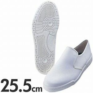 アキレス クッキングメイトスニーカー ぐるめ君 厨房用靴 25.5cm ホワイト【代引不可】
