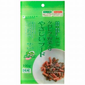 ペッツルート 犬用半生フード クロレラ・野菜入り やさしいフード ライト お試しサイズ 100g【代引不可】