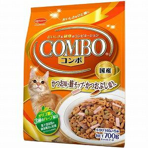 日本ペットフード 猫用ドライフード ミオ かつお味・鮭チップ・かつおぶし添え 700g(140g×5袋)【代引不可】