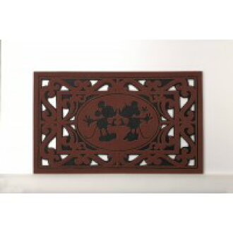 Doormat (Mickey & Minnie) Brown-SD-2171-BR