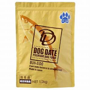 [P]文永堂 犬用ドライフード DOG DATE ステージ2 成犬−老犬用 1.2kg【代引不可】