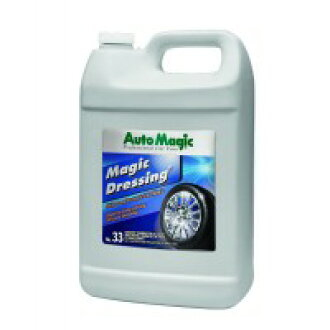 AUTOMAGIC No.33 magic dressing resin lustering agent for tyres (including solvents and silicone) 3.78 L a33-3.78