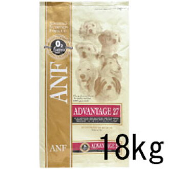 ANF advantage 27 18 kg adult dogs for protein 27% dog food