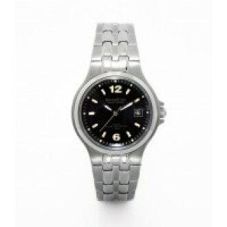 罗文迪诺 (罗马诺) 3263 2 太阳能钛 100 米防水黑色女式手表