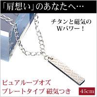 【送料無料】ピュアループオズ プレートタイプ 磁気つき 45cm【代引不可】