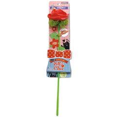 ドギーマンハヤシ キャティーマン じゃれ猫 らぶらぶリボン お花でチュッ バラ おもちゃ【代引不可】
