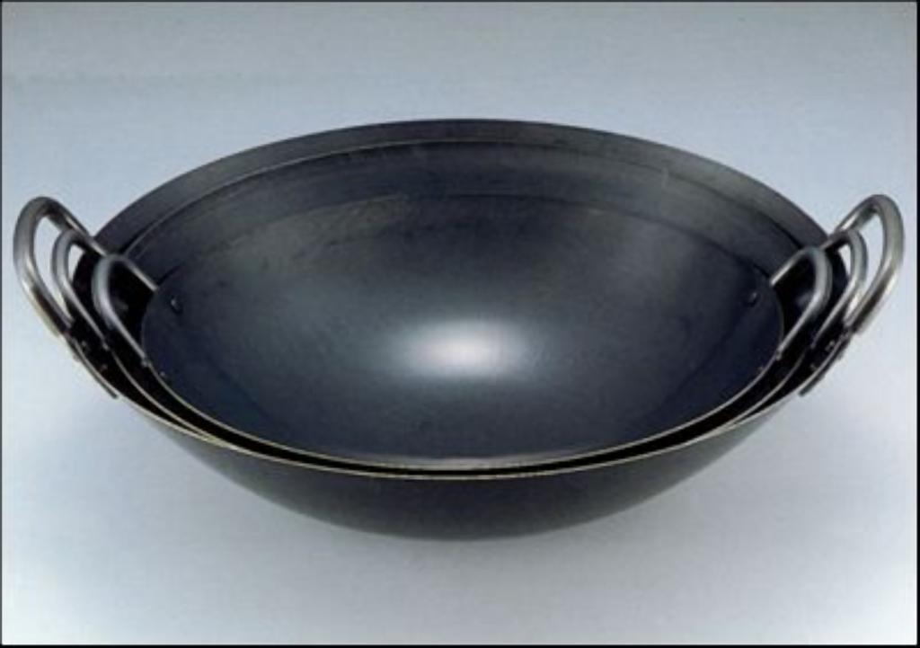 日本製 japan 鉄人 中華鍋 51cm (両手中華鍋・鉄製・業務用) 104151
