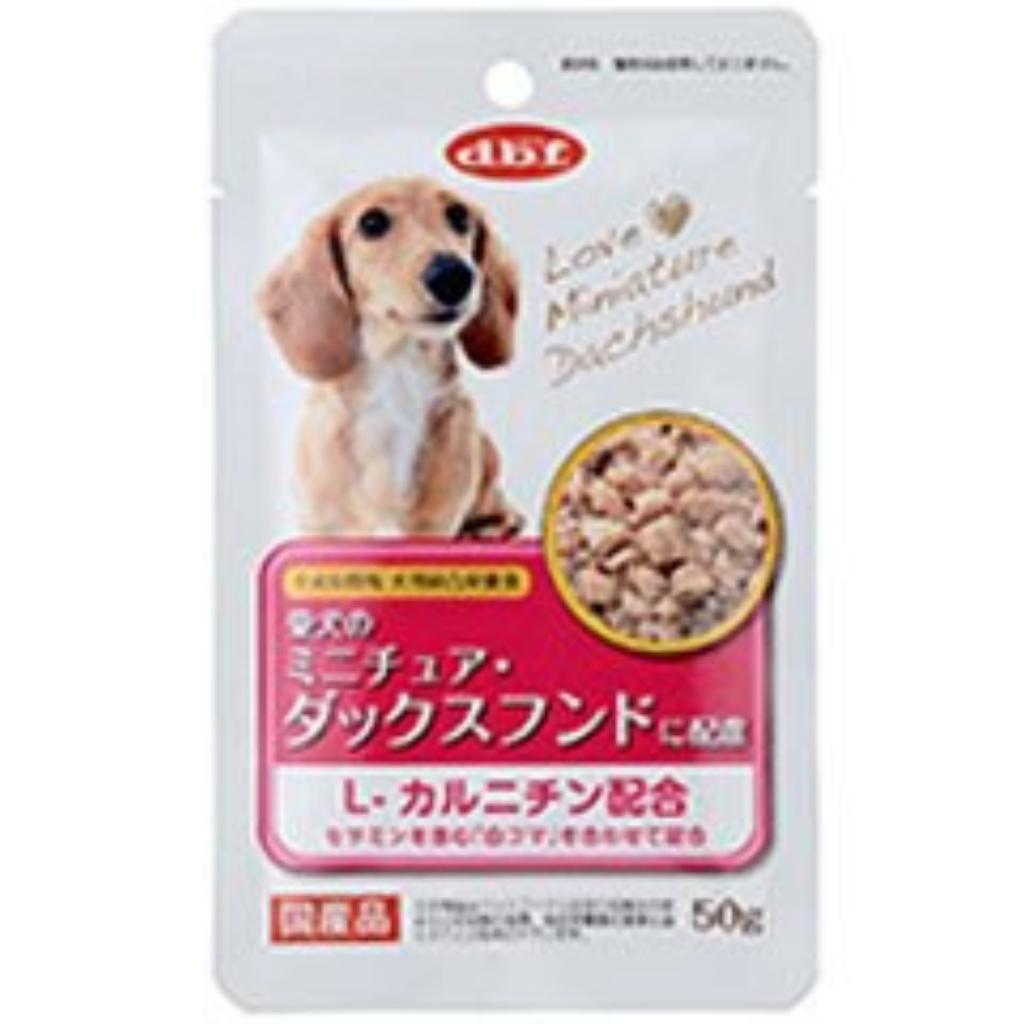デビフ 犬用ウェットフード 愛犬のミニチュア・ダックスフンドに配慮 50g【代引不可】
