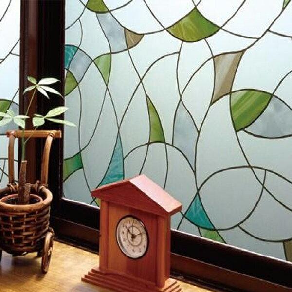 飛散防止効果のある窓飾りシート(大革命アルファ) GH-4603 46cm丈×90cm巻【代引不可】