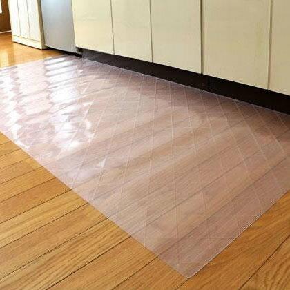 【送料無料】DPF(ダイヤプラスフィルム) キッチン床面保護マット クリスタルダイヤマット 80cm×240cm