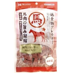 THジャパン 犬用おやつ 馬肉ジャーキー 角切りタイプ 150g【代引不可】
