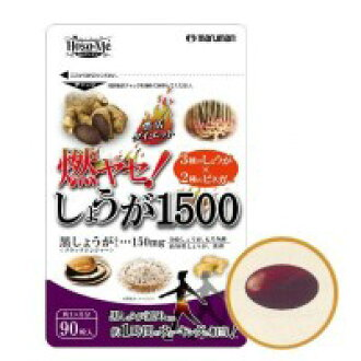 燃yase maruman! ginger 1500 90 tablets