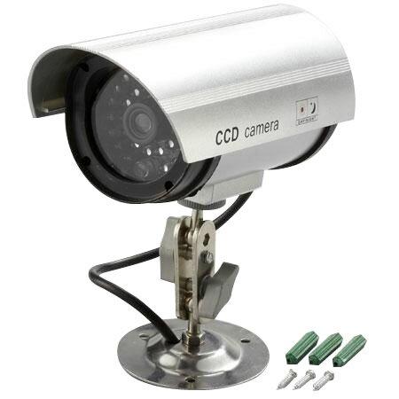 防犯LED点滅ダミーカメラ ADC-209【代引不可】