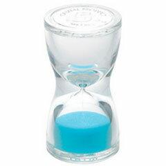 青芳製作所 砂時計 トルソー サンドグラス 5分計 ブルー【代引不可】