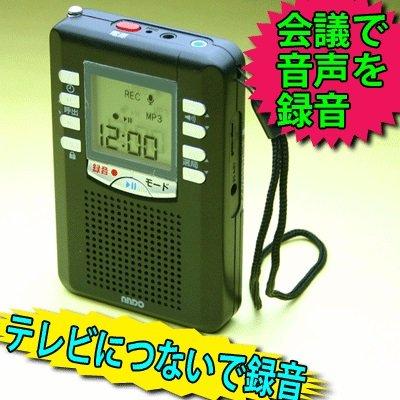 ANDO アンドー microSDカード対応 録音型ポケットラジオ RP13-453DZ【代引不可】