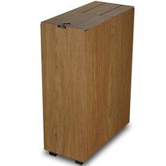 【送料無料】[P]橋本達之助工芸 ゴミ箱 バスク キッチンペール 45L ブラウン【代引不可】