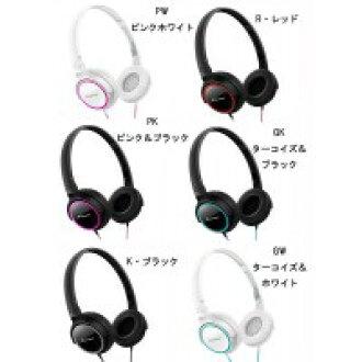 Pioneer (pioneer) sealing type dynamic stereo headphones SE-MJ512 GK, turquoise &