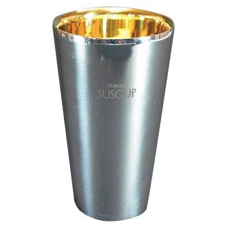 后来 SUSCUP 直杯内 24 镀金直径 7 x 12 厘米 SCW-4 G