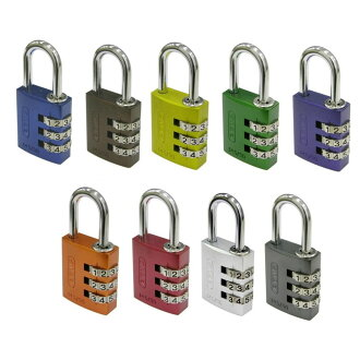 ABUS (ABAS) number changeable lock 145-30 Blue / 00721241