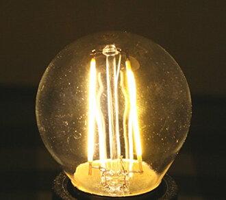 백열전구와 같이 빛나는 LED 전구 20 W상당 코마루구 타입 안틱 조명에