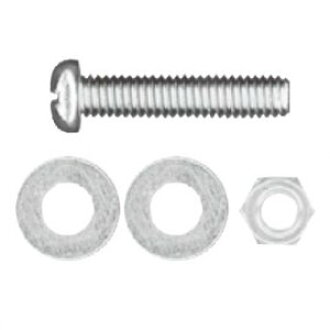 WAKAI (Wakai industry) 2K-460 stainless steel small screw set hot pot 4X60 2K460 [a bulk buying 1 pack: *8 set of 10 Motoiri]