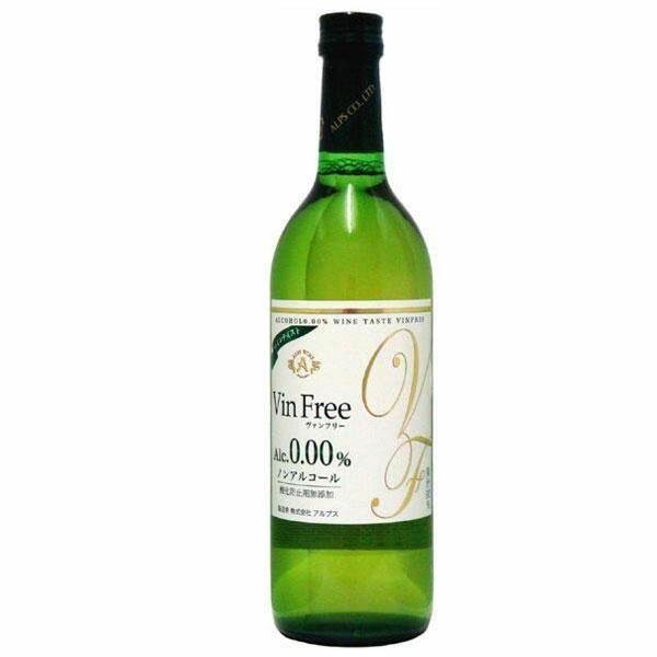 アルプス ノンアルコールワイン ヴァンフリー白 720ml 6本セット【代引不可】