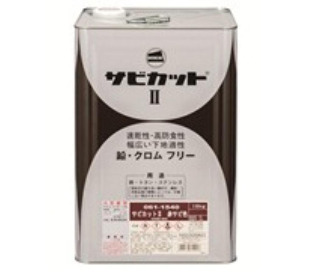 ロックペイント サビカットII ホワイト 4kg 061-1542-4kg 【代引不可】