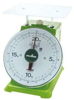 在世界老闆(WORLD BOSS)上盤子度盤秤普通的大型20kg TKM-20