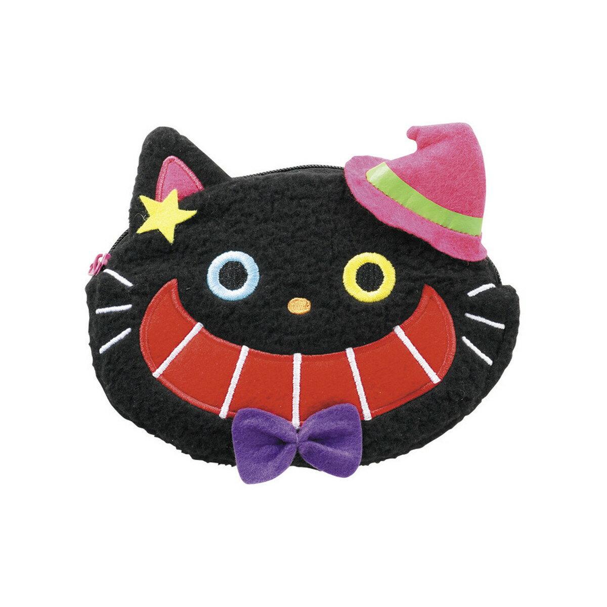 アーテック ふわふわハロウィンポーチ 黒猫(HF-140) 76379
