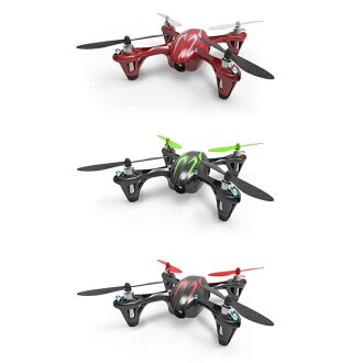 GeForce g-force Hubsan X4 HD drone black green and H 107C-2