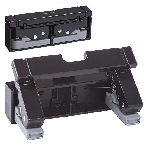 (まとめ買い)リヒトラブ コンパクトパンチ 黒 P-1040-24 00435513 〔3個セット〕