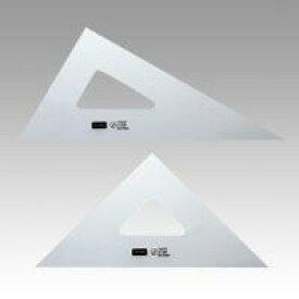 (まとめ買い)内田洋行 三角定規 24cmX2mm 目盛り無し 1-809-2420 00065269 〔×3〕