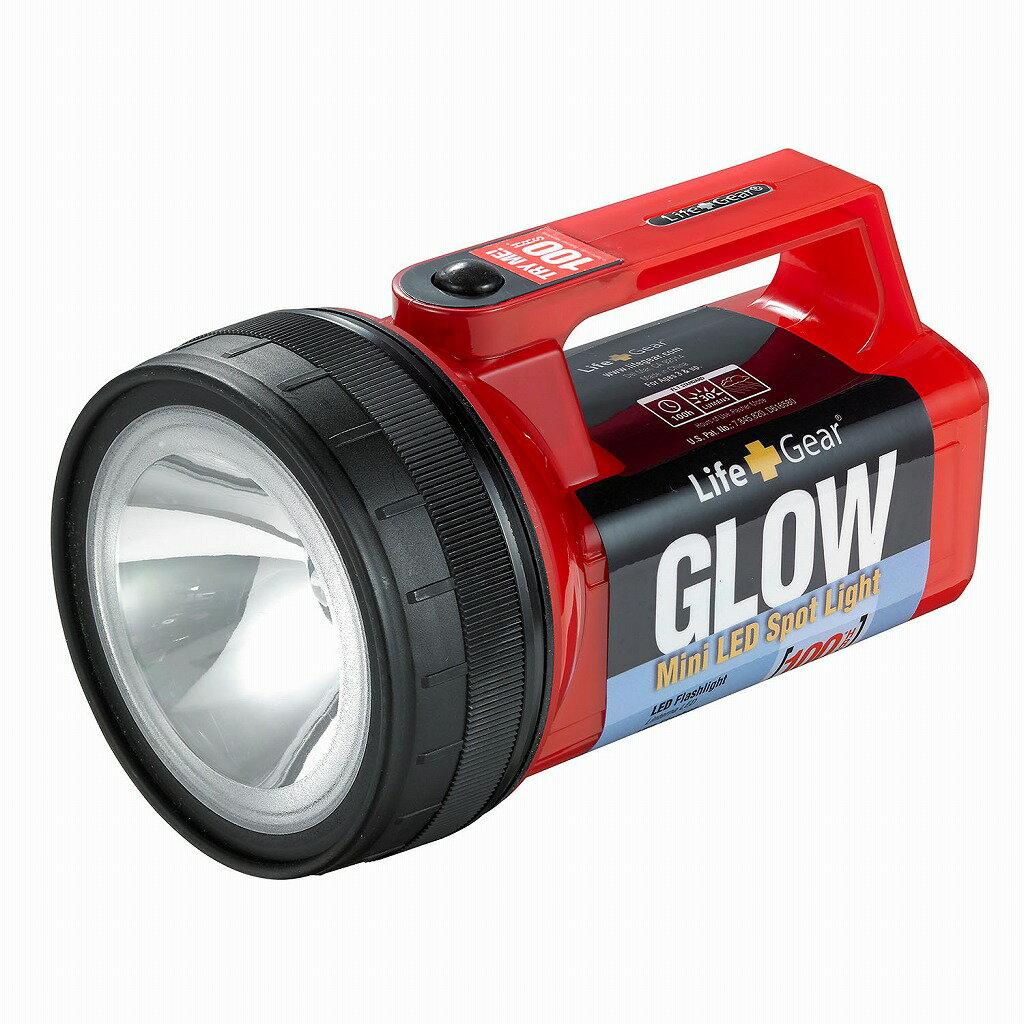 (まとめ買い)ELPA LED強力ライト DOP-LG600(R) 〔×3〕