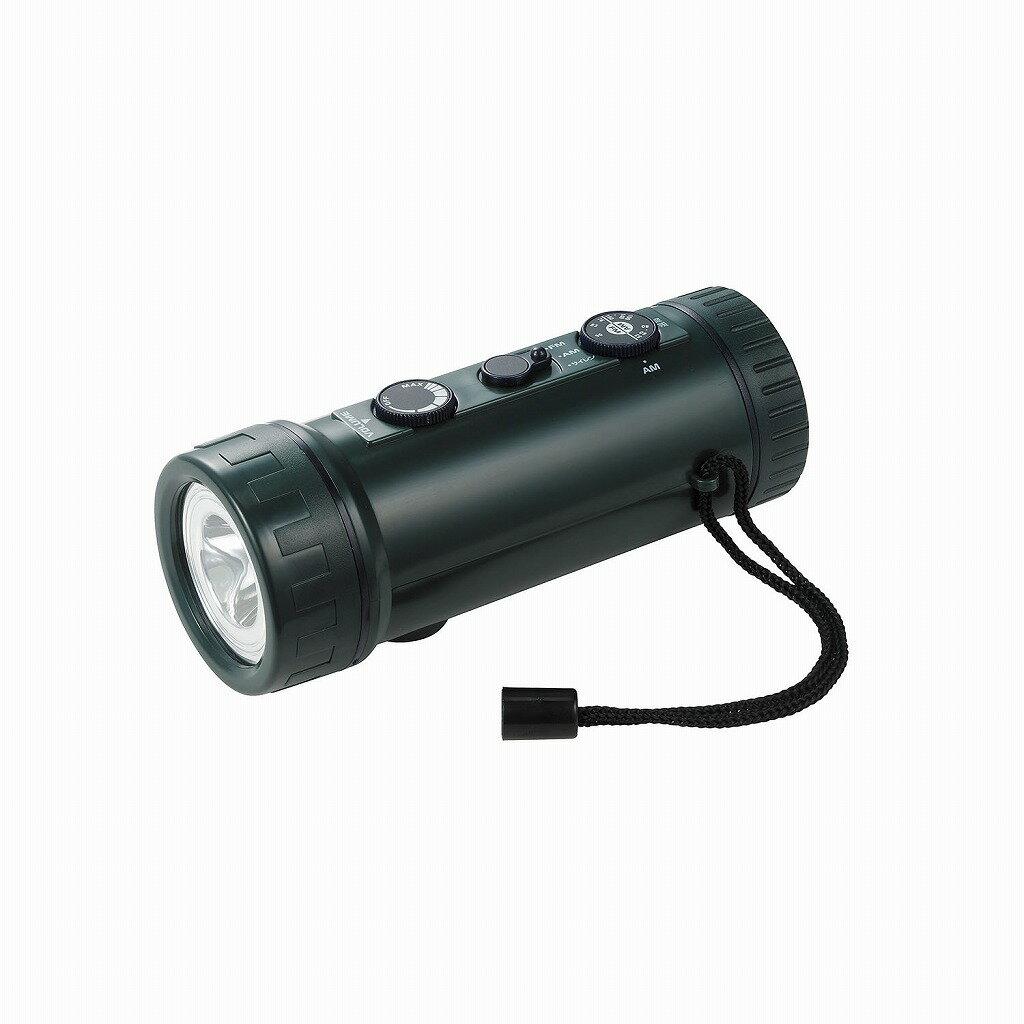 (まとめ買い)ラジオ付ライト DOP-660 〔×3〕