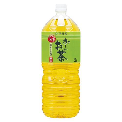 (まとめ買い)伊藤園 PETおーいお茶緑茶 2L(6本) オーイオチャ リョクチャ2LX6 00073346 〔×3〕