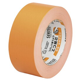 (まとめ買い)積水化学 カラークラフトテープ 橙 NO.500WC 50X50 オレンジ 00021335 〔5個セット〕【北海道・沖縄・離島配送不可】