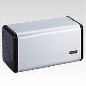 (まとめ買い)テラモト ステン紙タオルホルダー (黒) OT-568-200-0 00024955 〔3台セット〕